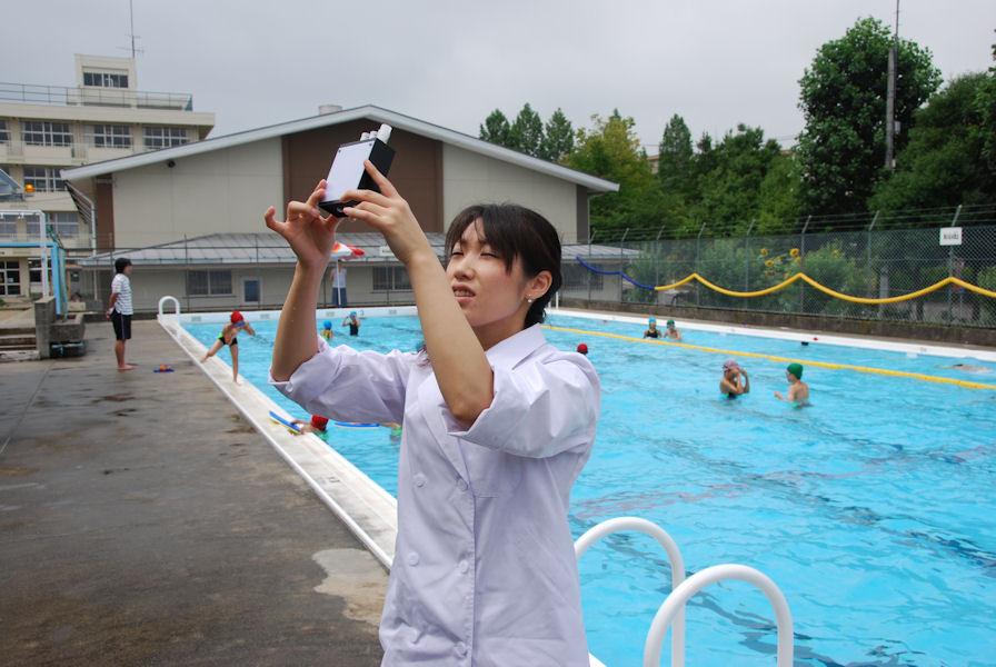 プール水検査1